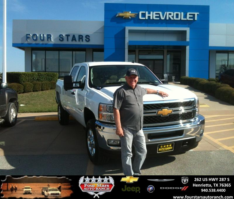 Four Stars Auto Ranch >> Thank you to Mike Erskine on your new 2013 # # from Gene K ...