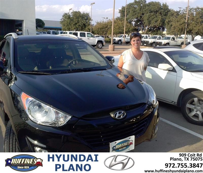 2013 Hyundai Tucson: Thank You To Charlsie Sanders On Your New 2013 Hyundai Tuc
