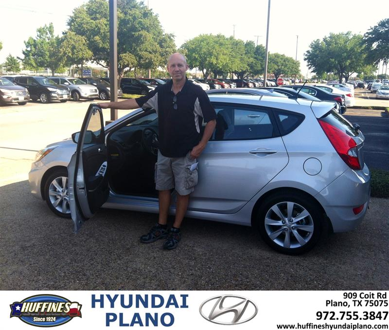 Huffines Hyundai Mckinney Home: Huffines Hyundai Plano: Thank You To Chuck Copell On The