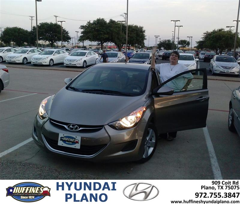Thank You To Camilla Sellers On The 2013 Hyundai Elantra F