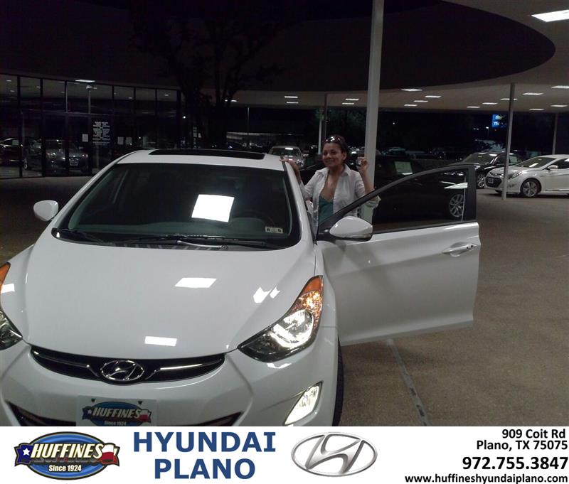 Huffines Hyundai Mckinney Home: Huffines Hyundai Plano: Thank You To Farha Behlim On The