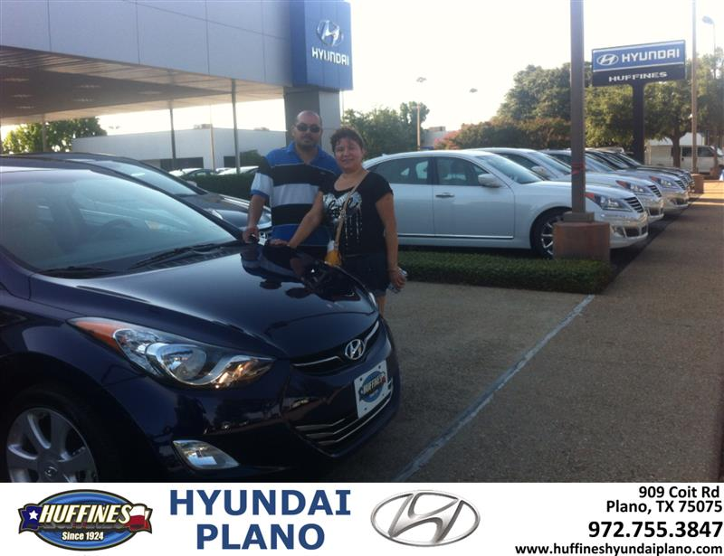 Thank You To Marta Cruz On The 2013 Hyundai Elantra From J