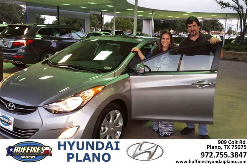 Huffines Hyundai Plano Thank You To Jim Spurr On The 2013