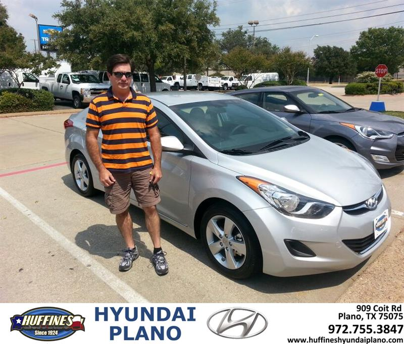 Huffines Hyundai Plano Thank You To Dennis Bacon On Your