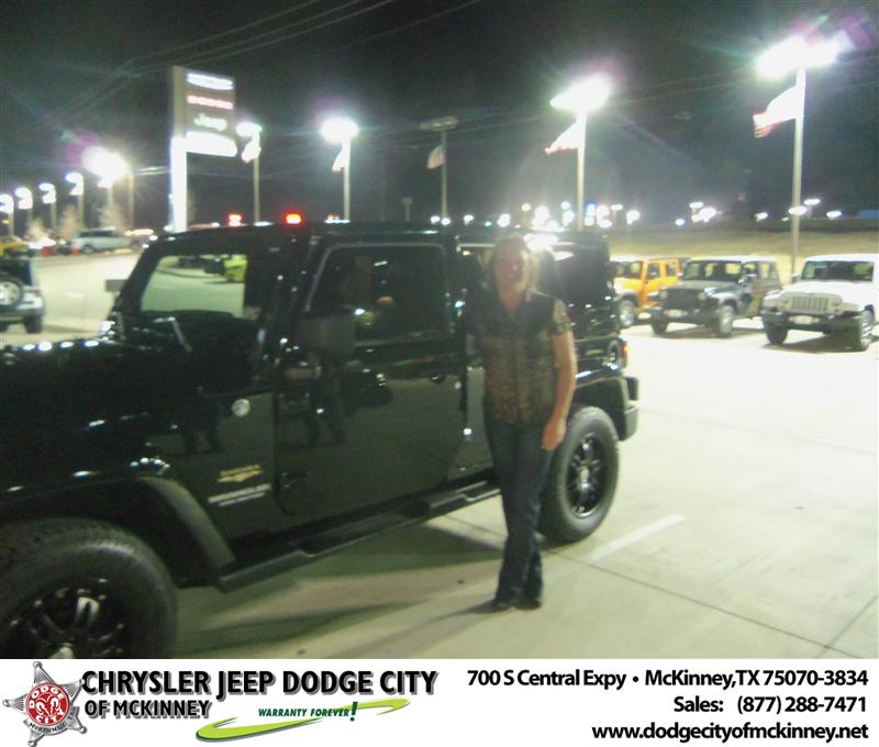 Dodge City Of Mckinney >> Happy Anniversary to Patricia A Knouse on your 2012 #Jeep ...