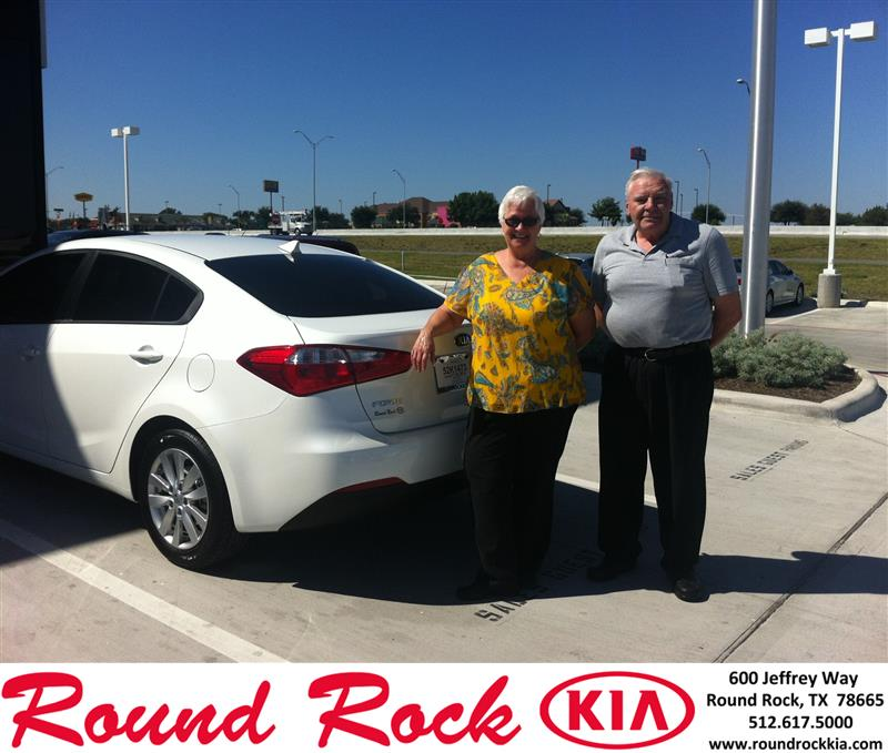 Kia Of South Austin >> Thank you to Audrey Beese on your new 2014 Kia Forte from Kent Turner and everyone at Round Rock ...