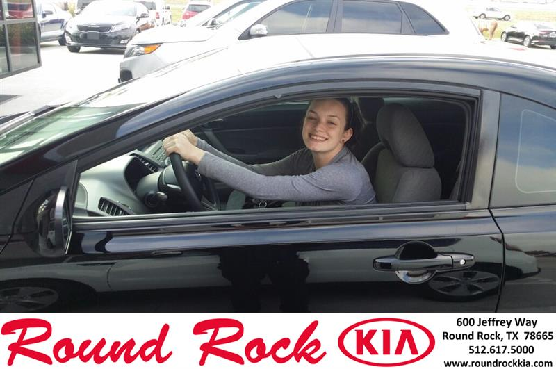Round Rock KIA: Thank you to Brittany Borden on your new ...