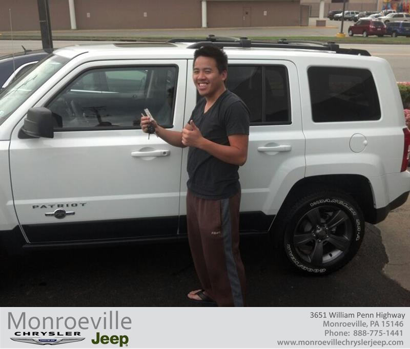 monroeville chrysler jeep pa4165 2014 jeep patriot daniel bui. Cars Review. Best American Auto & Cars Review