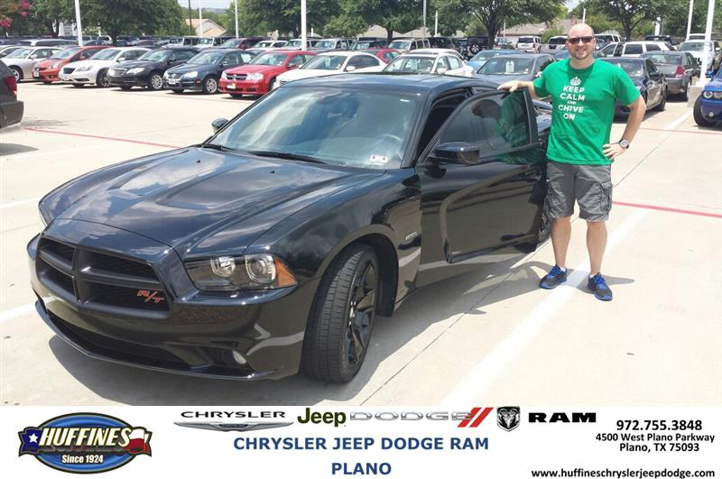 huffines chrysler jeep dodge ram plano thank you to william martin on the 2013 dodge charger. Black Bedroom Furniture Sets. Home Design Ideas
