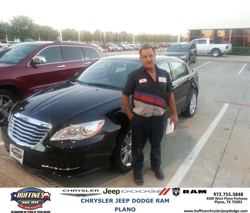 Plano Dodge: Thank You To Richard Rocha On Your New Chrysler From Jonat