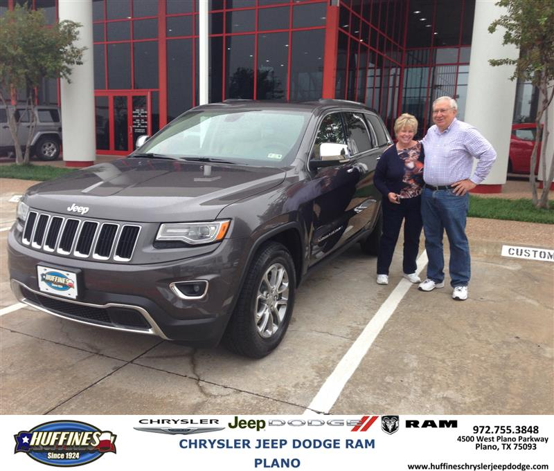 Plano Dodge: Thank You To David Dial On Your New 2014 #Jeep #Grand Cher