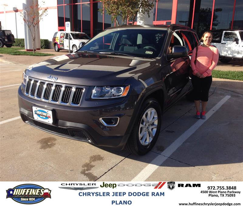 Plano Dodge: Thank You To Rebecca Rother On Your New 2014 #Jeep #Grand