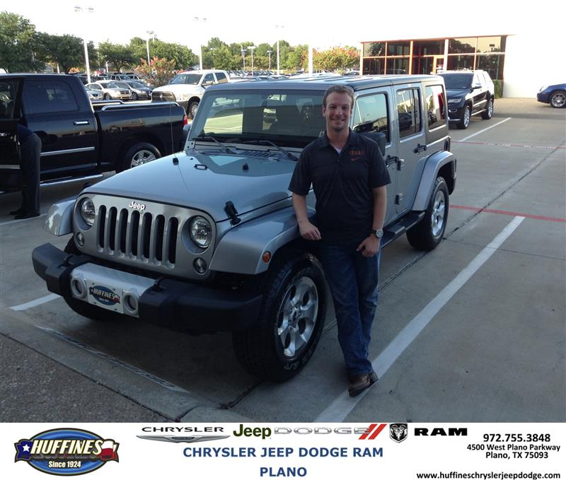 huffines chrysler jeep dodge ram plano thank you to brad bailey on the jeep wrangler from kevin. Black Bedroom Furniture Sets. Home Design Ideas