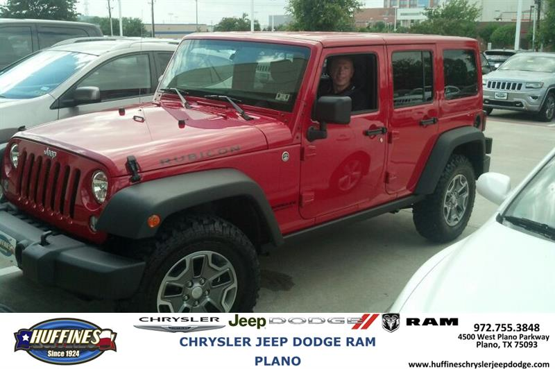 huffines chrysler jeep dodge ram plano thank you to ron braun on your new jeep wrangler from. Black Bedroom Furniture Sets. Home Design Ideas