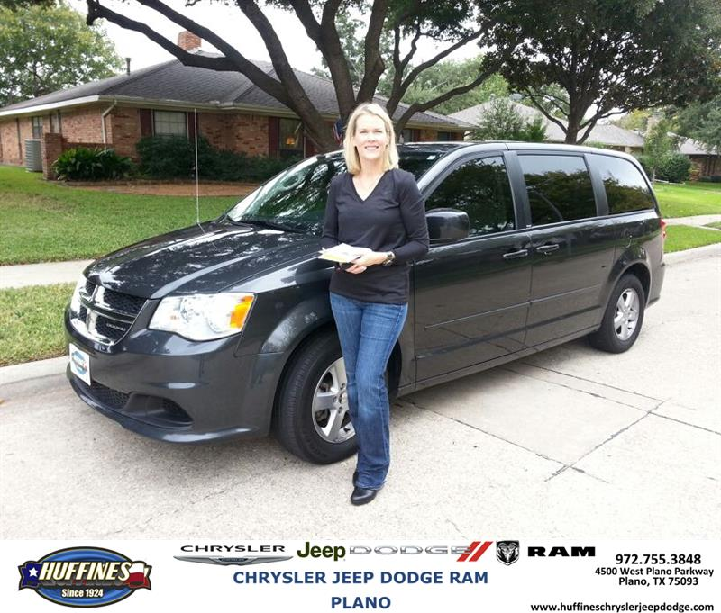 Plano Dodge: Thank You To Krista Dockery On Your New 2012 #Dodge #Grand