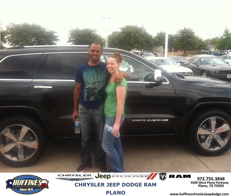 Plano Dodge: Thank You To Pennie Jones On Your New 2014 #Jeep #Grand Ch