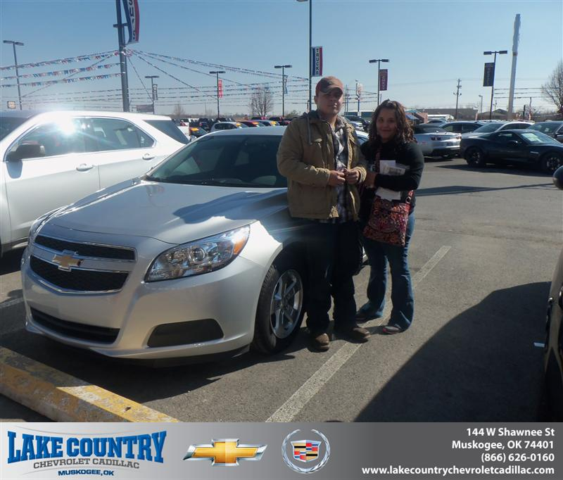 Wilson Cadillac: Congratulations To Brittany Vann On The 2013 Chevrolet Mal…
