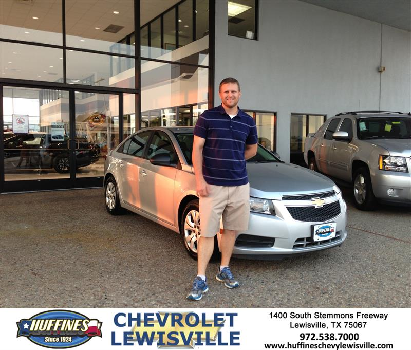 Thank You To Sam Wendorff On Your New 2013 Chevrolet Cruze