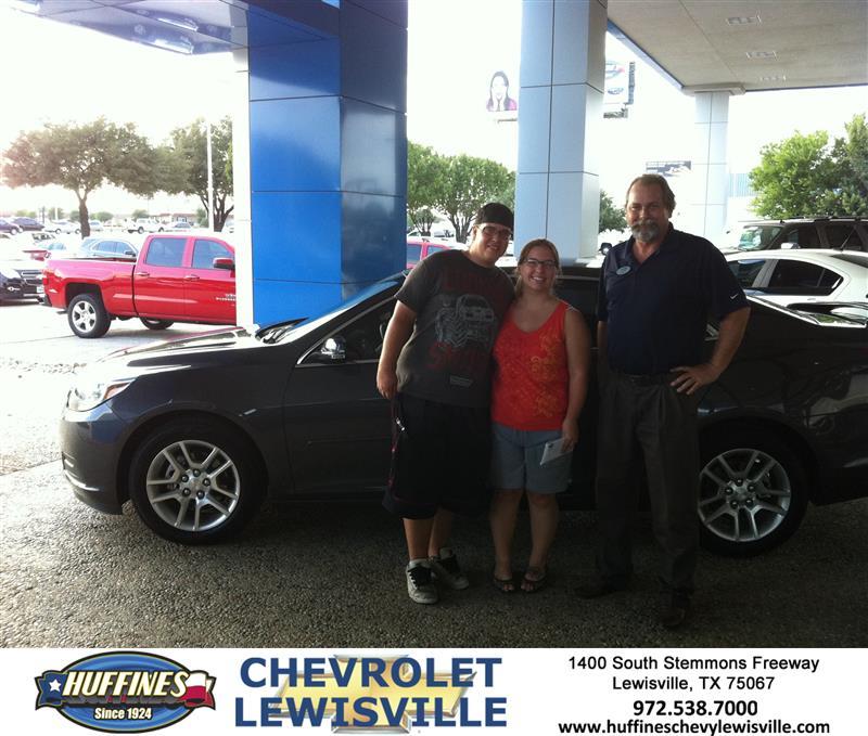 Thank You To Kellye Von Ehr On Your New 2013 Chevrolet
