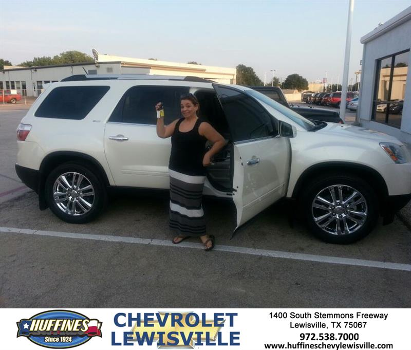 Thank You To Christine Chauvin On Your New 2010 GMC Acadia