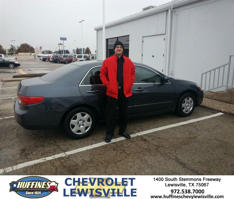 Thank You To Andrew Tucker On Your New 2005 Honda Accord