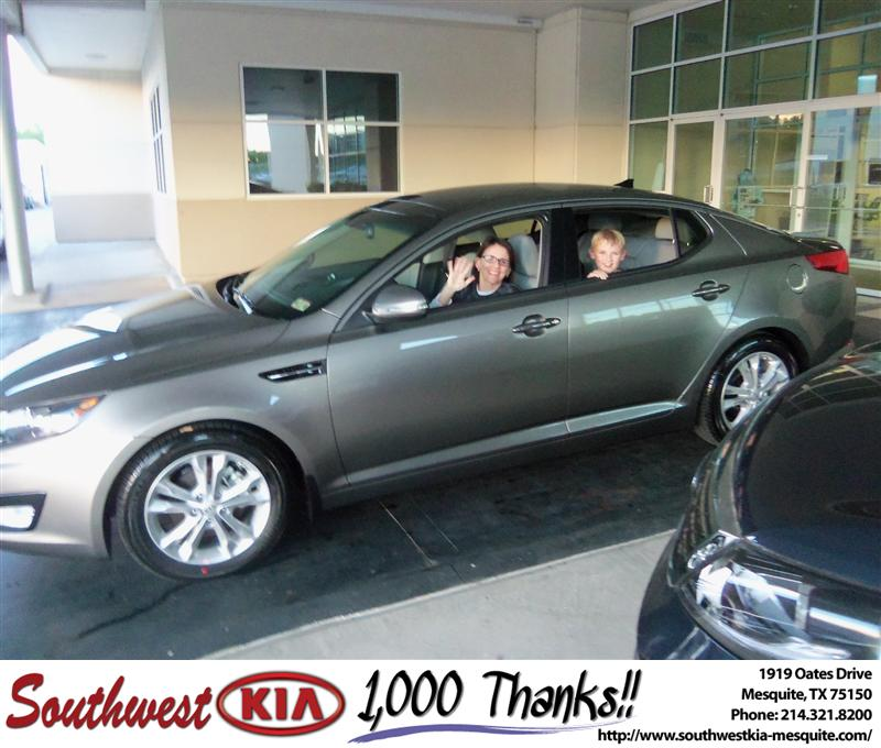 Southwest Kia of Mesquite would like to say Congratulation ...