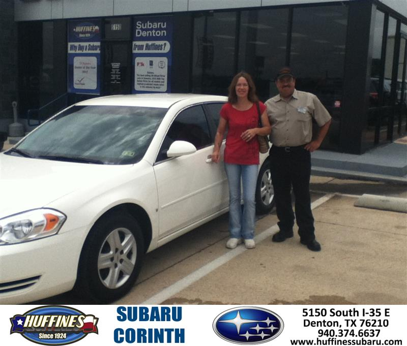 Thank You To Thomas Galvan On The 2008 Chevrolet Impala Fr