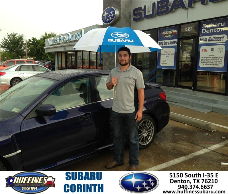 Thank You To Robert Manross On The 2013 Subaru Impreza Sed