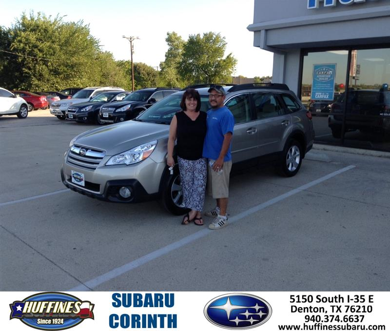 Thank You To Ray Romero On Your New 2014 Subaru Outback Fr