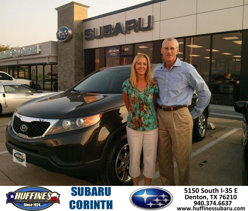 Thank You To Clyde Steelman On Your New 2011 Kia Sorento F