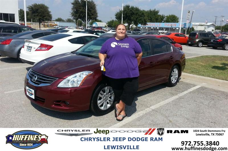 Huffines Dodge Lewisville >> Thank you to Jamie Church on the Nissan from Lyon Alizna a ...