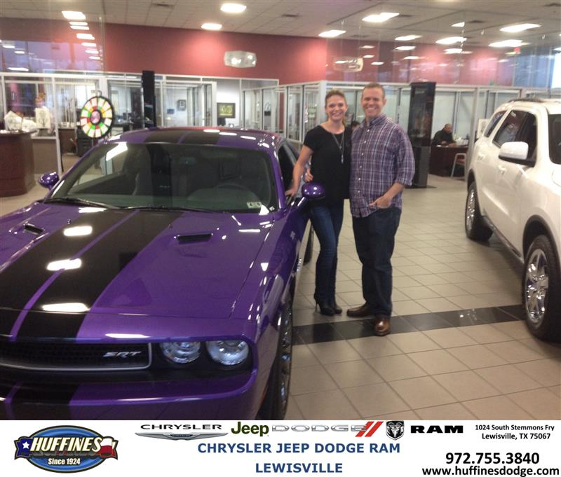 Thank You To Brooke Gastin On Your New Dodge Challenger