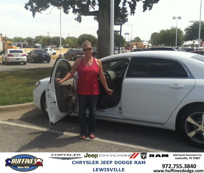 Service Esc Malibu 2011 >> Huffines Chrysler Jeep Dodge RAM Lewisville: Thank you to Laurie Bandel on the 2011 Chevrolet ...